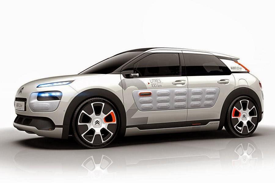 Citroën C4 Cactus Airflow 2L Concept (2014) Front Side