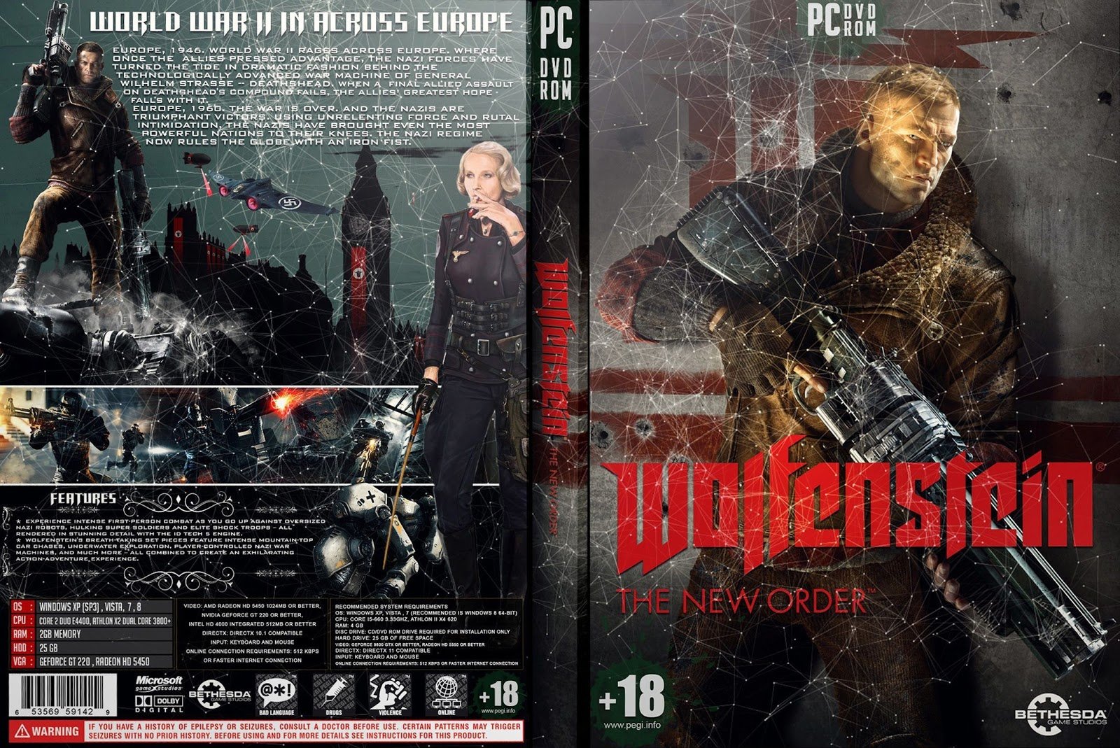 Capa Wolfenstein The New Order PC