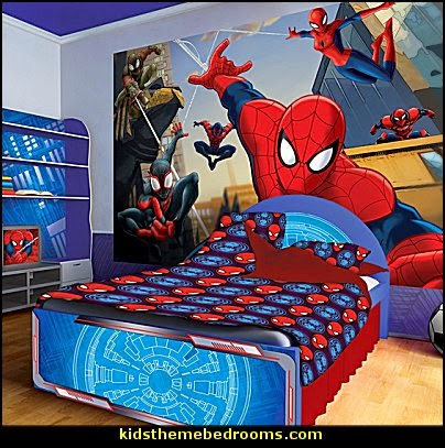 bedrooms spider web curtains spiderweb bedding marvel heroes