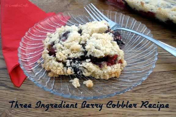 Recipe For Berry Cobbler Using Cake Mix