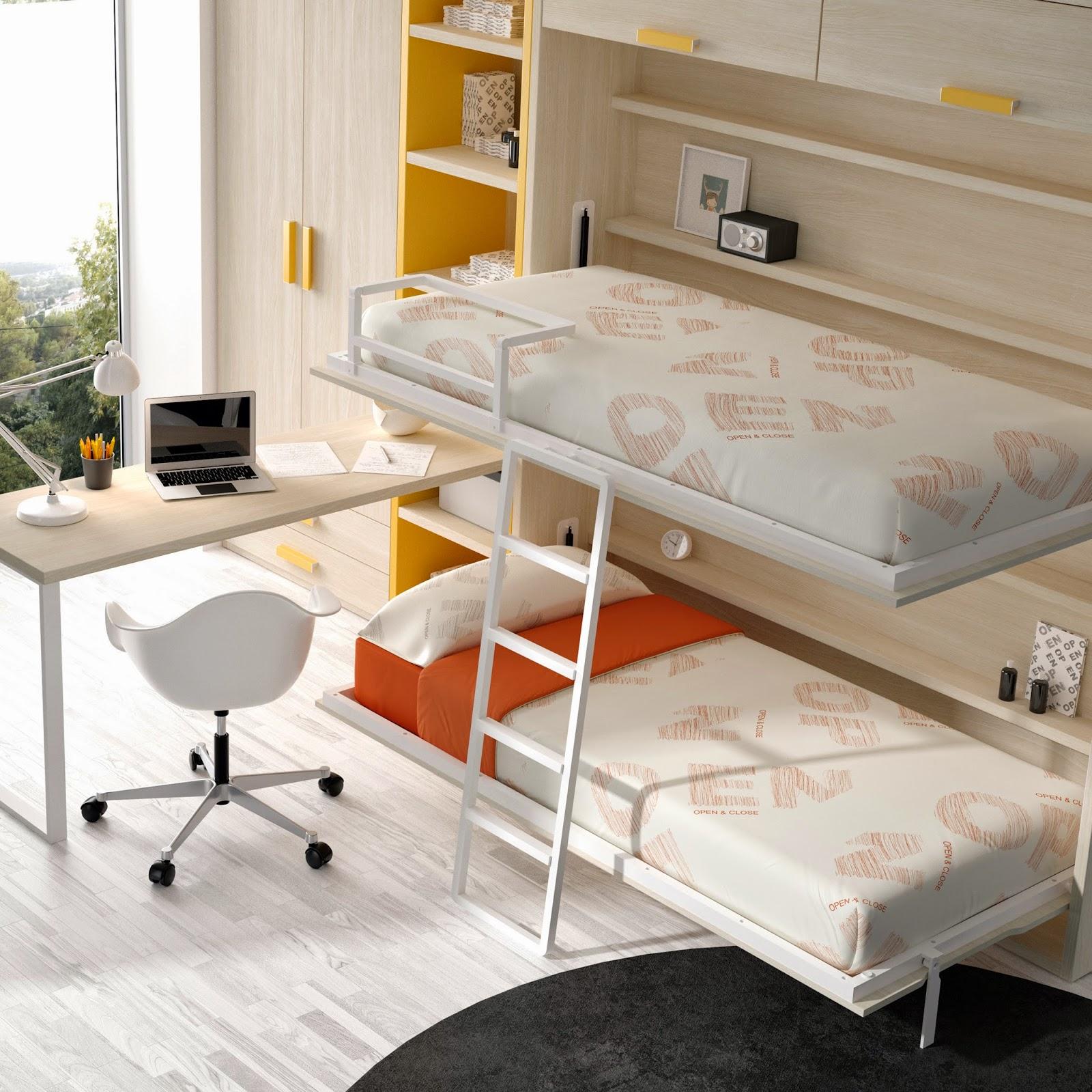 Nuevas camas abatibles de muebles ros - Sistema cama abatible ...