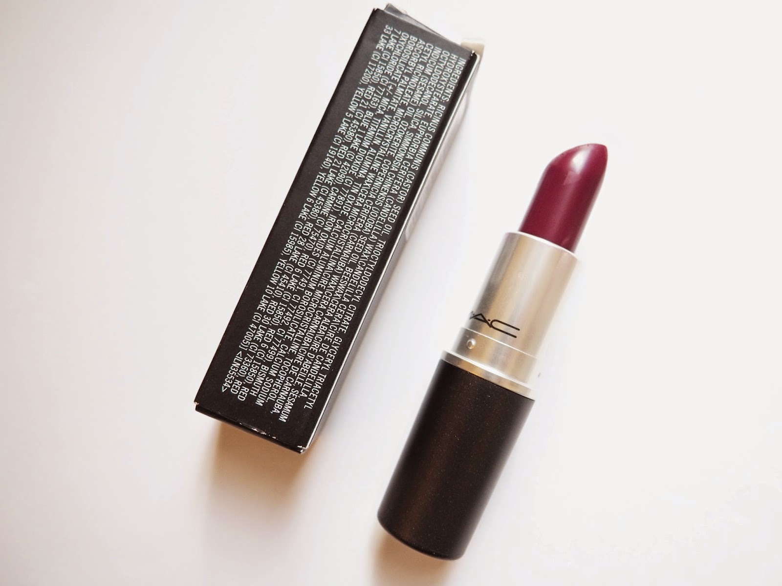 MAC Rebel Satin Lipstick