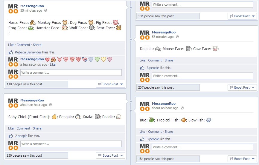 Facebook Chat Emoticons Fb Symbols Smileys Code Shortcut Keys Icons