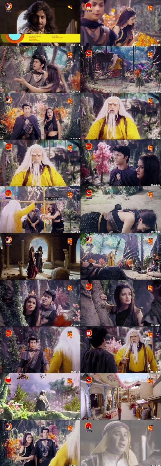 Screenshots Of Hindi Show Aladdin – Naam Toh Suna Hoga 2018 Episode 63 300MB 720P HD