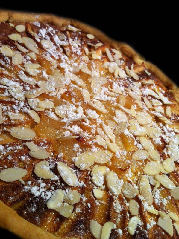 Tarte normande bi go ts pommes poires blogs de cuisine - Recette tarte normande traditionnelle ...