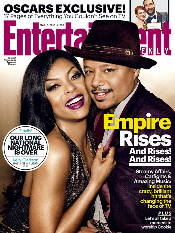 Actress, Singer @ Taraji P Henson - Entertainment Weekly USA, March 2015