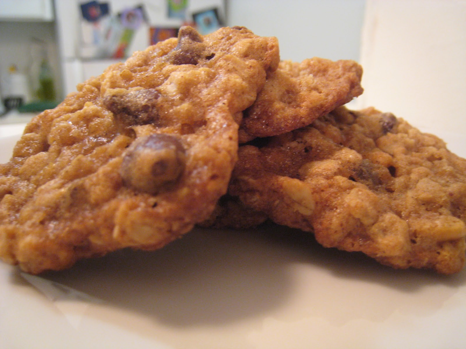 Bake Your Feelings: Oatmeal Chocolate Chip Butterscotch Cookies