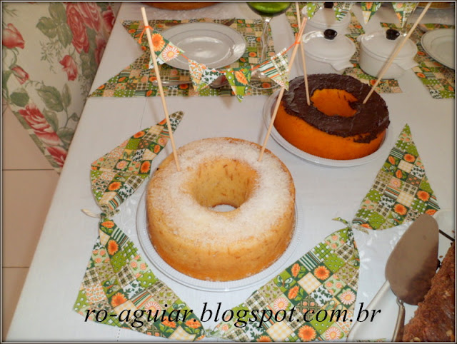 mesa decorada festa junina - com PAP (DIY)