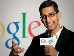 Sundar Pichai Appointed as New CEO of Google by Larry Page and Sergey Brin