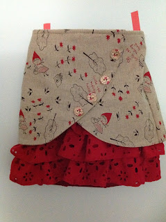 Little Red Riding Hood Skirt by Cicely Ingleside