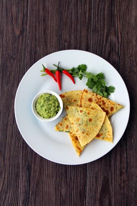Quesadillas mit Guacamole
