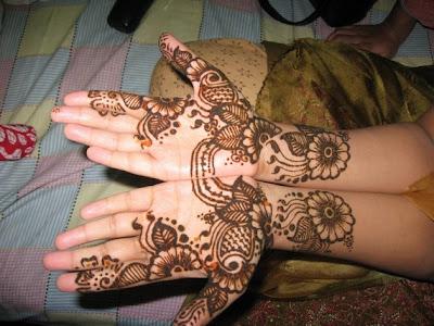 Mehndi Patterns And Designs : Mehndi bridal desgins for brides dresses dulhan