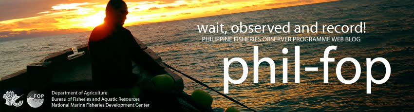 Philippine Fisheries Observer Programme Web Blog