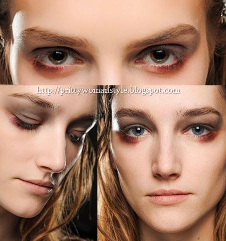 Хелоуин грим с опушени очи - Зомби