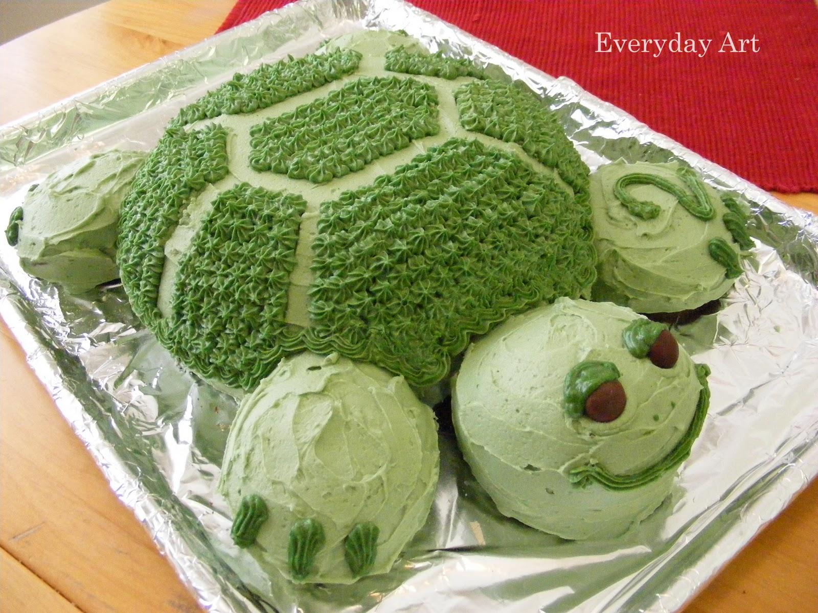 Торт черепаха с фруктами пошаговый рецепт