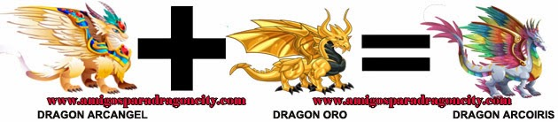 como hacer el dragon arcoiris de dragon city formula 2