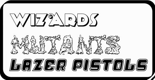 Wizards Mutants Laser Pistols