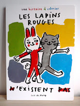 Les lapins rouges n&#39;existent pas, loulou&amp;cie