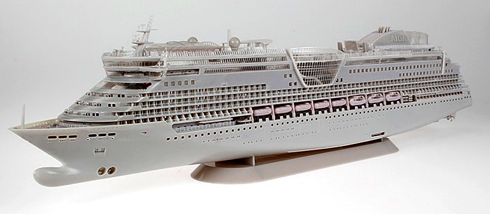 ... News: REVELL AIDA 'DIVA' CRUISE SHIP - TEST SHOTS OF UPCOMING KIT