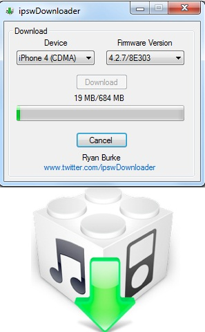 ipsw Downloader for Win and  Mac