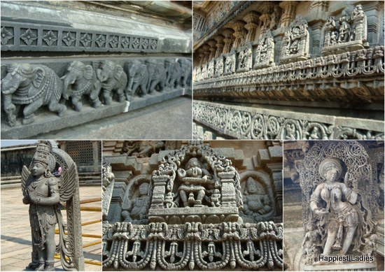 Belur Chennakesava Temple Carvings