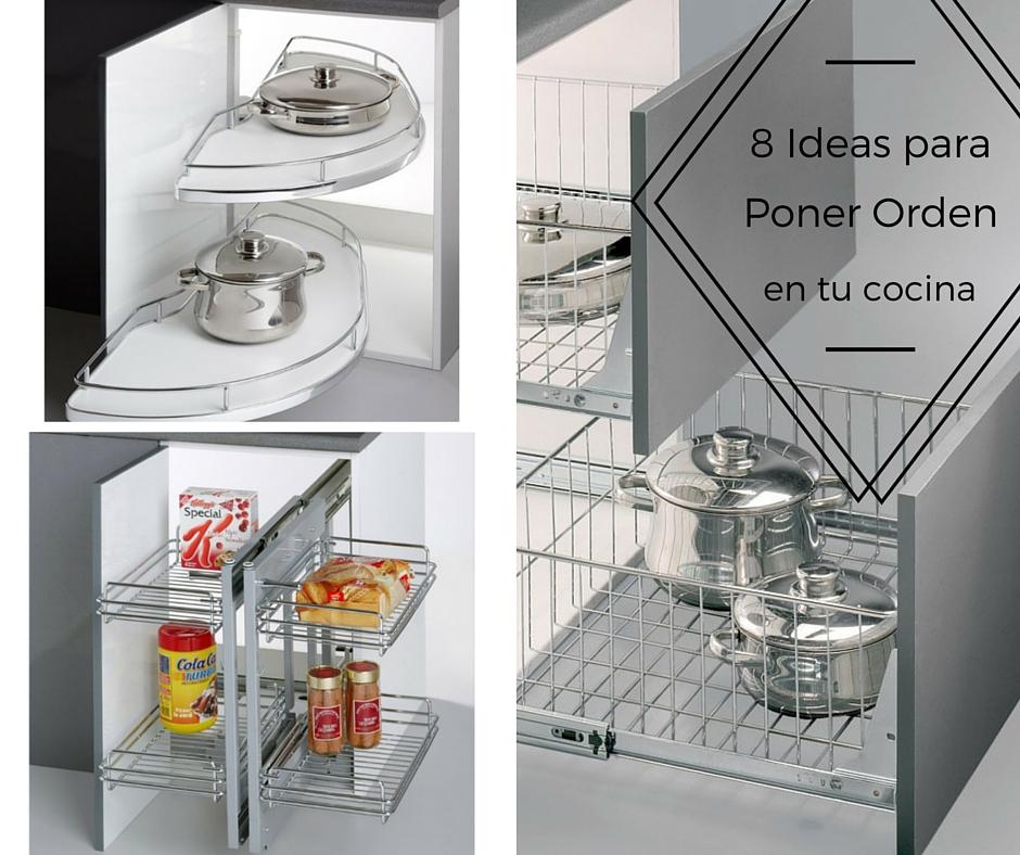 Hogar diez 8 ideas para poner orden en tu cocina for Ordenar armarios cocina