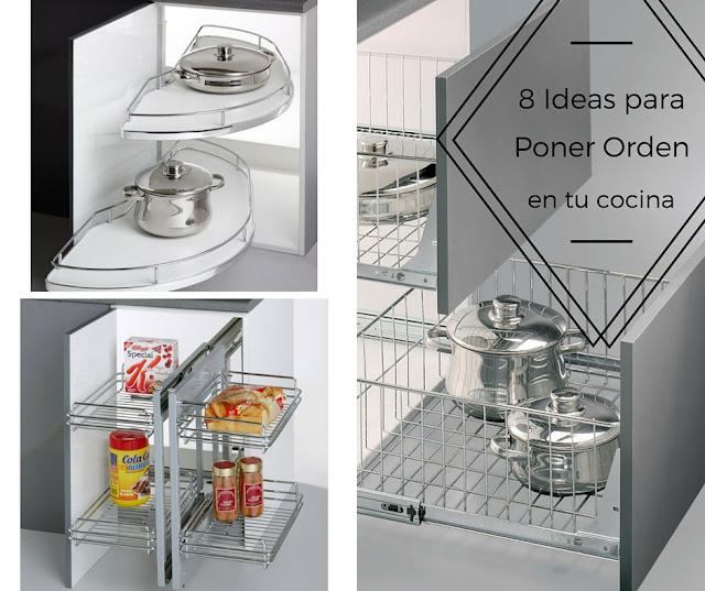 8 ideas para poner orden en tu cocina