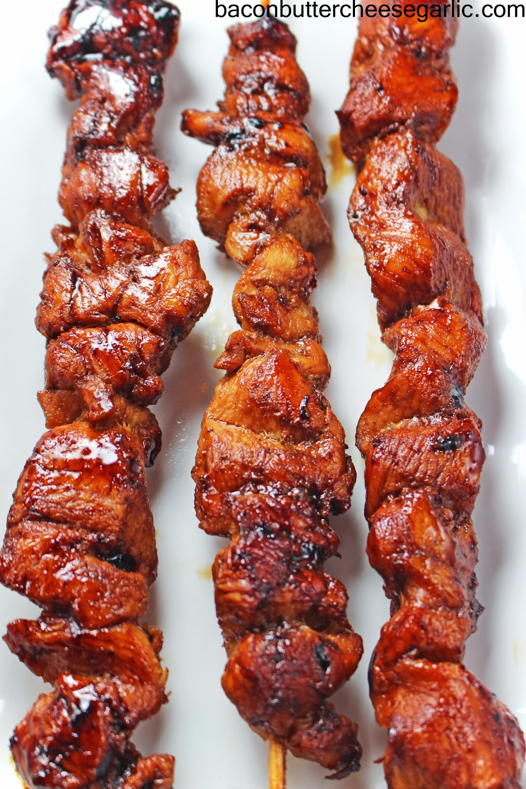 Bacon, Butter, Cheese & Garlic: Chicken on a Stick