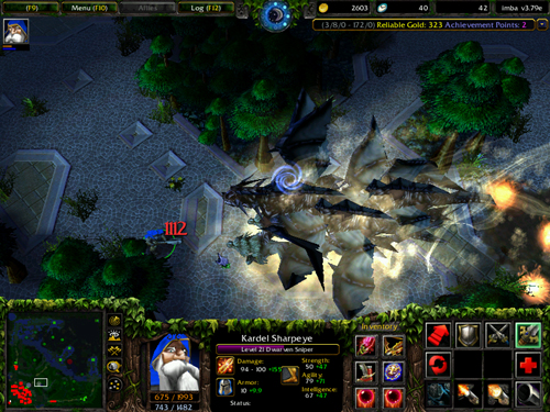 View the mod db dota 2 remake 3vs3 mod for warcraft iii: frozen throne image in-game screenshots dota 2 remake 3vs3