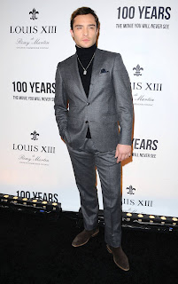 Ed Westwick arrives at Louis XIII Event 3.jpg