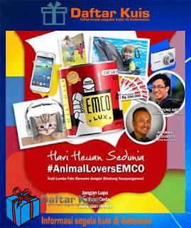 Lomba Foto Tema Hari Hewan Sedunia Bersama EMCO Paint