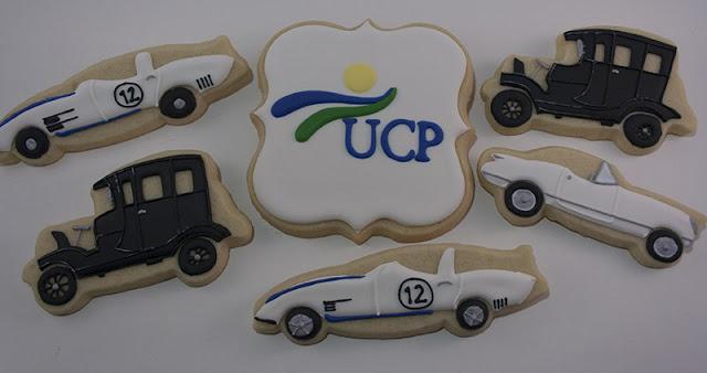 classic car cookies