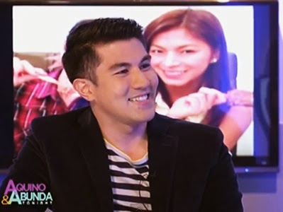 Luis Manzano and Angel Locsin