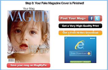 how to make a fake magazine cover photoshop