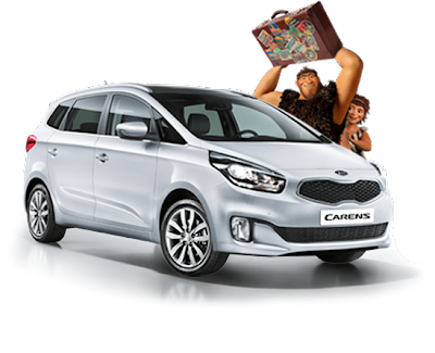 Un monospace Kia Carens + 1 console Wii + 50 places pour le film Les Croods