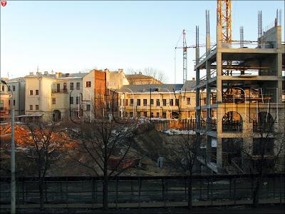 Минск. Немига, разрушение исторической застройки
