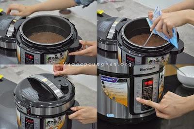 Cách nấu chè đậu đỏ nước cốt dừa 3