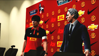 Download Manchester United Press Conference PES 2013