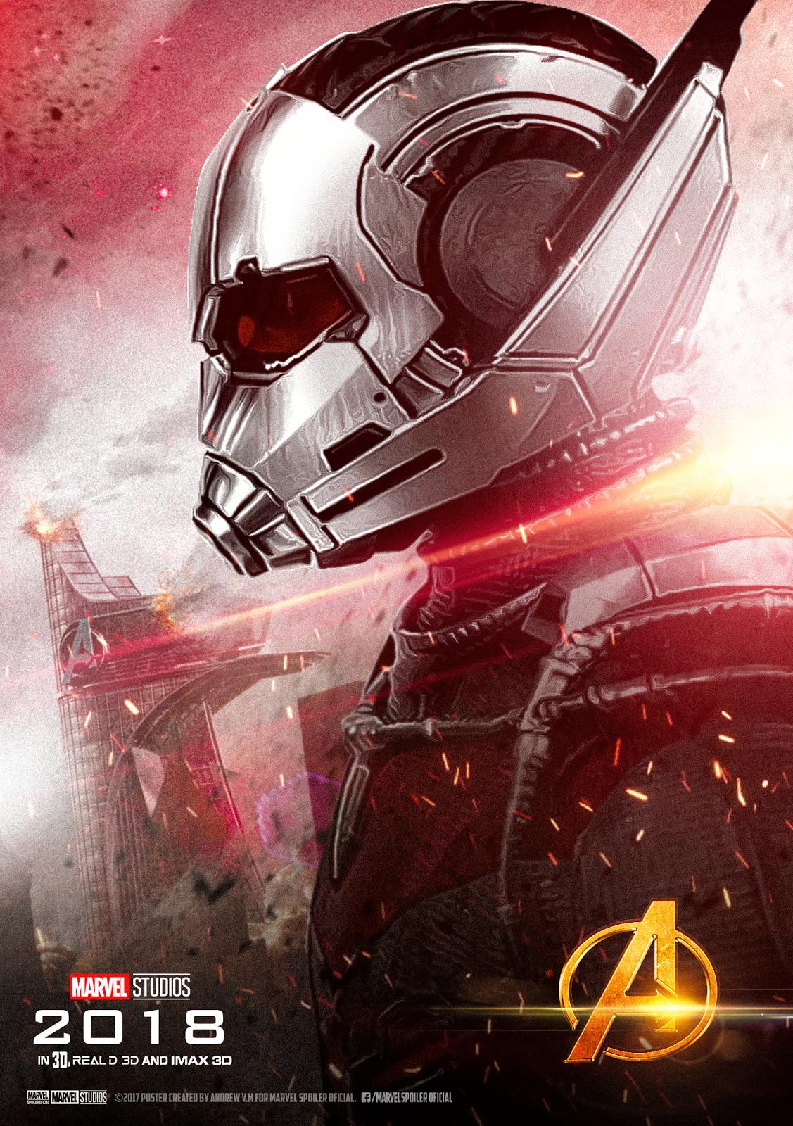 Marvel Spoiler Oficial Poster Individual De Ant Man En