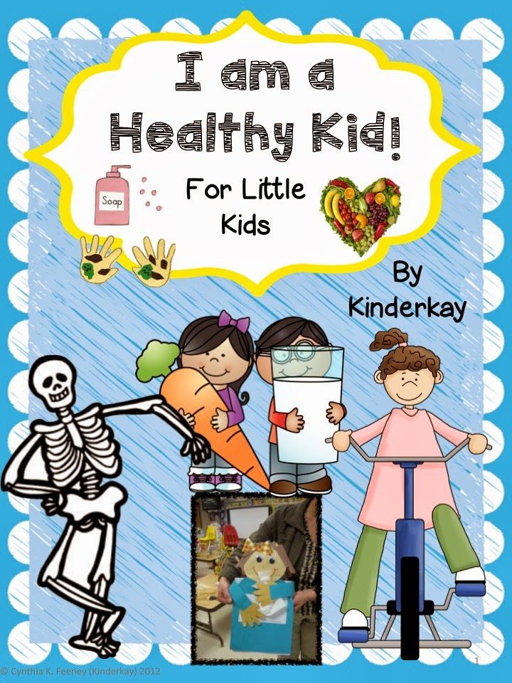 http://www.teacherspayteachers.com/Product/Health-and-Nutrition-for-Little-Kids-206430