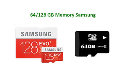 32/64 and 128 GB Memory in Samsung Galaxy S7 Edge -