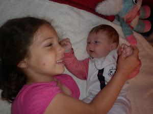 JUlcia i jej braciszek wujeczny