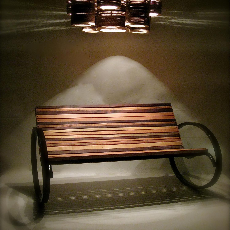 Pant Rocking Bench by Joe Manus