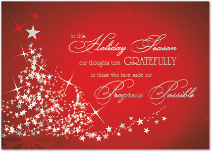 Christmas thank you cards slim image m4hsunfo