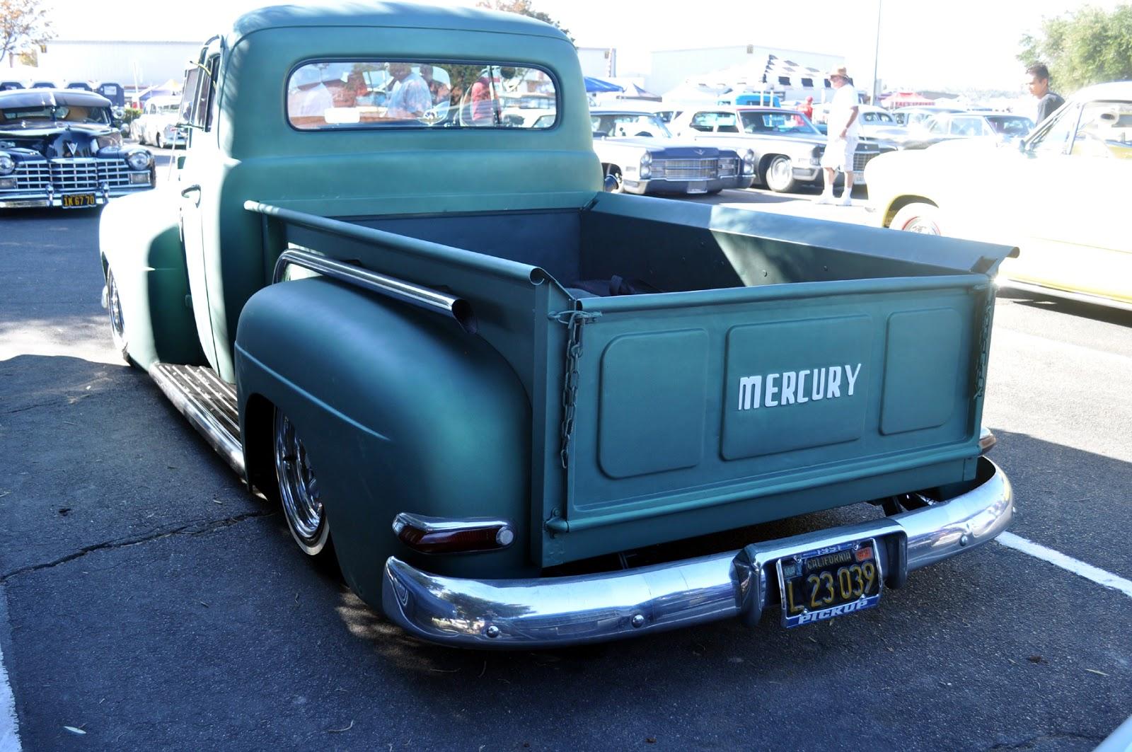 1951 mercury m1 truck at the bo huff rockabilly car show