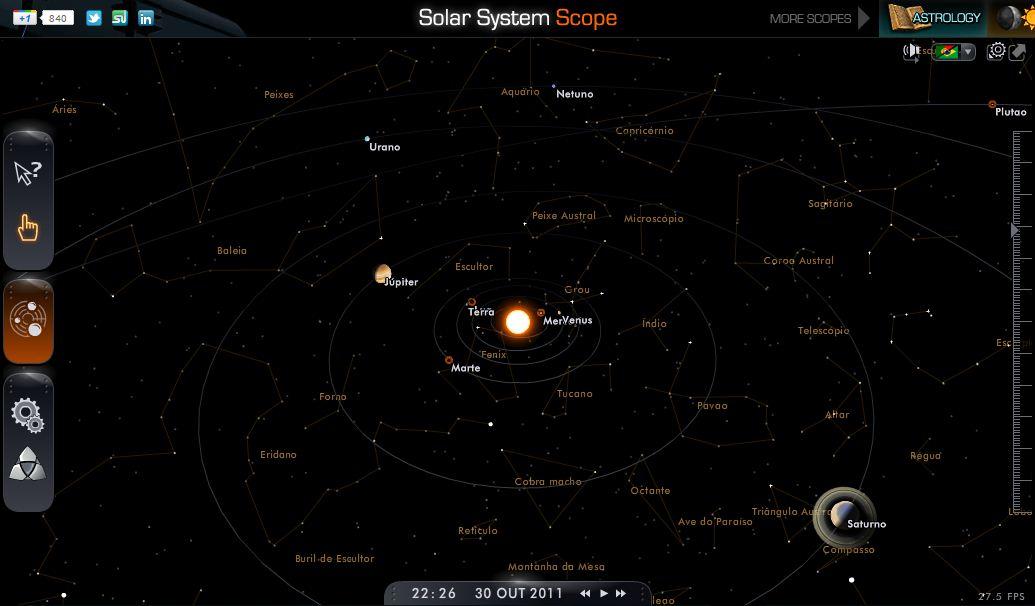 SISTEMA SOLAR EM 3D