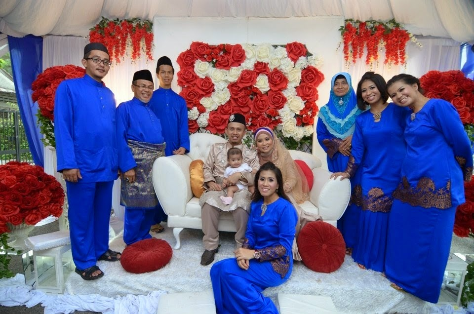 Groom theme         (Royal blue + brown skin)