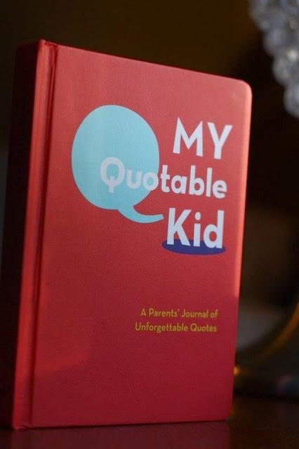 Libro para apuntar frases de los niños