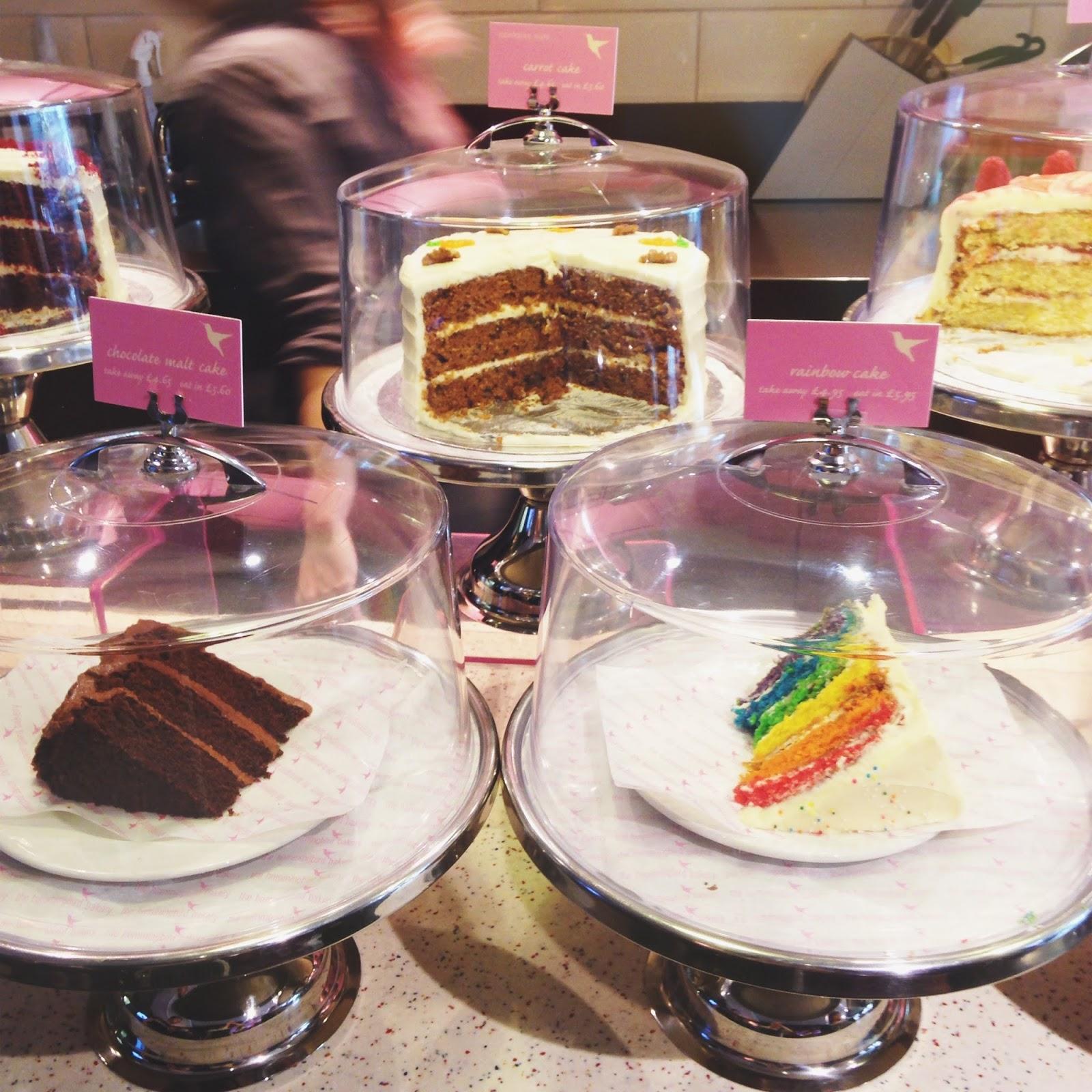 Hummingbird cakes london