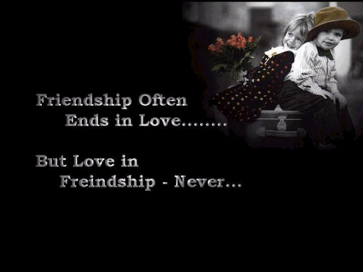 difference between love n friendship